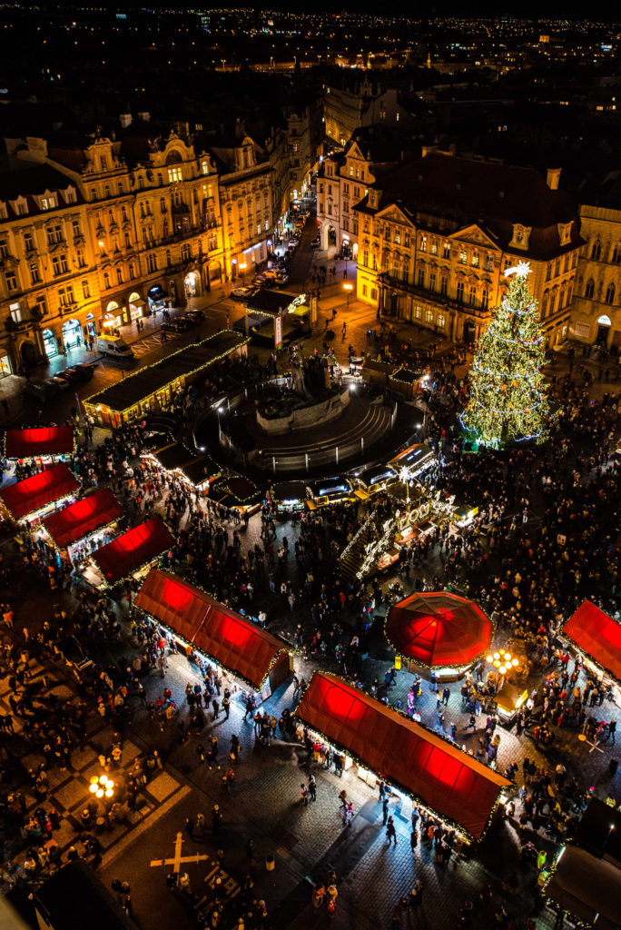 Photo by Rodney Ee - Prague Christmas Market