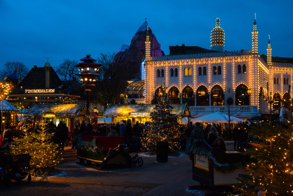 Photo by Maria Eklind - Trivoli Gardens Christmas