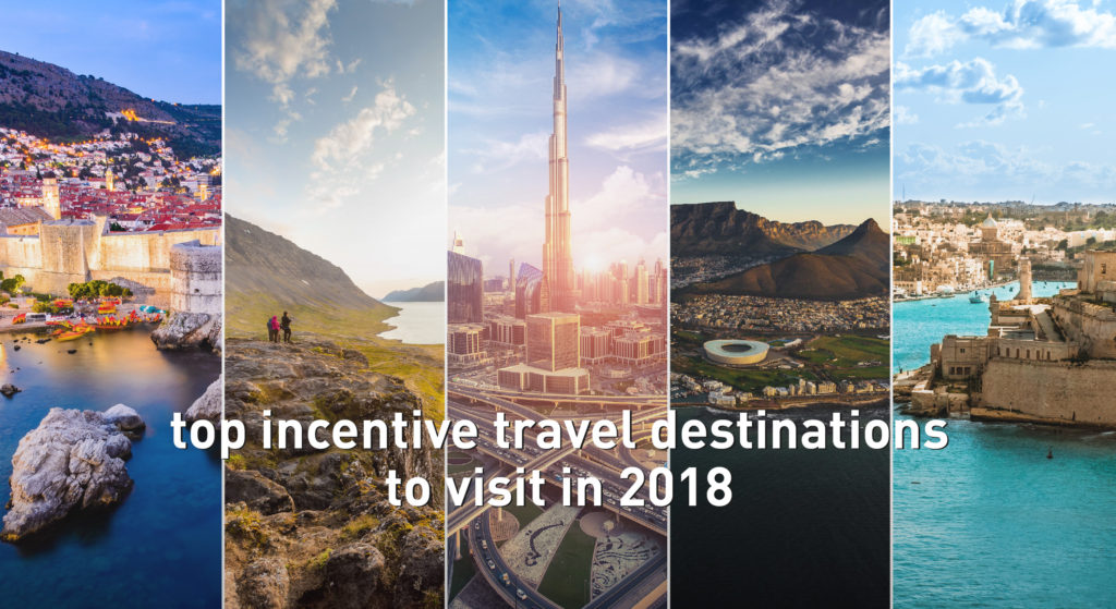 incentive program destinations our big list of the best for 2018